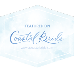 Featured on Coastal Bride