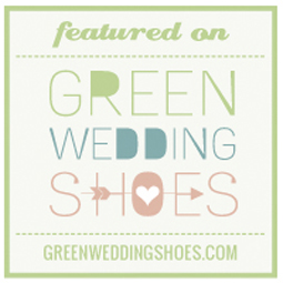 Freatured on the Green Wedding Shoes Blog