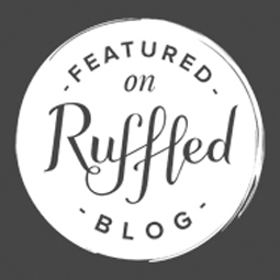 Featured on Ruffled Blog